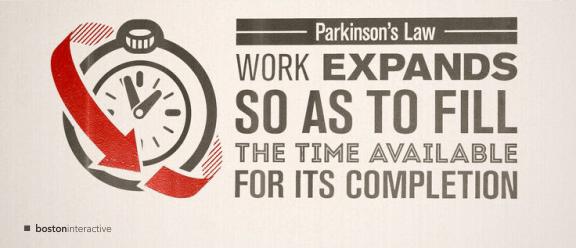 Parkinson's Law Banner